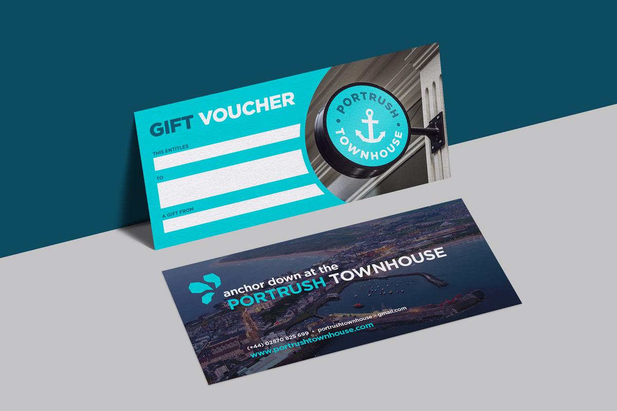 Portrush Townhouse gift vouchers